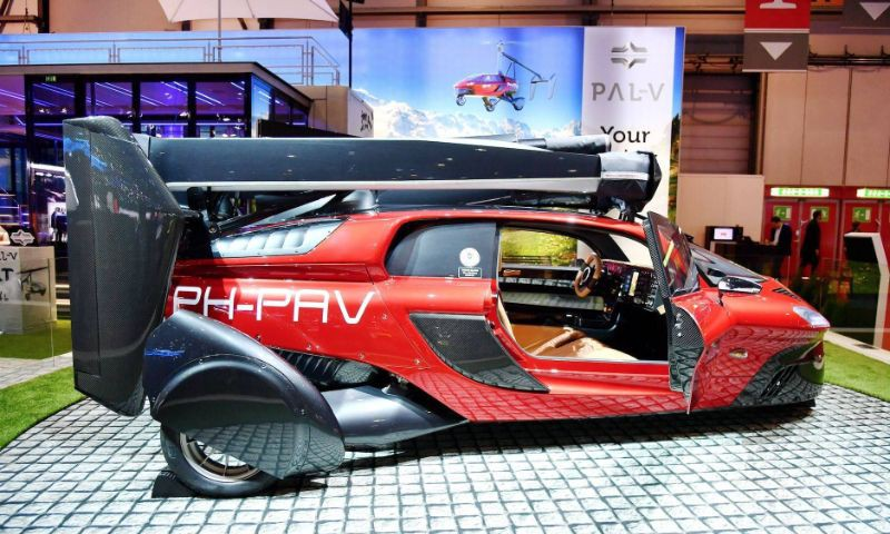 PAL-V Liberty 飞行汽车
