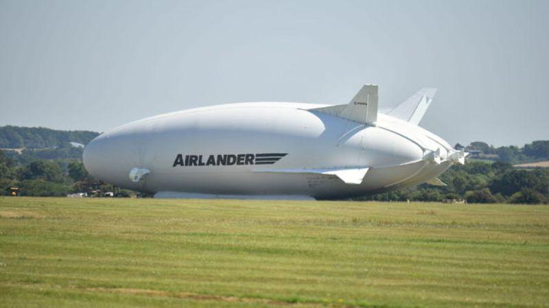卡戴珊号Airlander 10飞艇